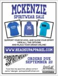 Spiritwear Sale Orders till September 21st